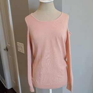 Calvin Klein cold shoulder sweater